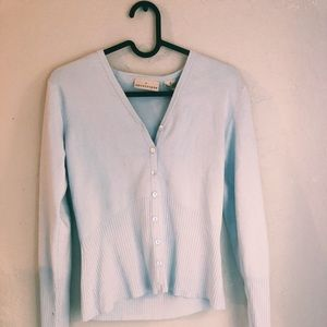 Light blue sweater/cardigan